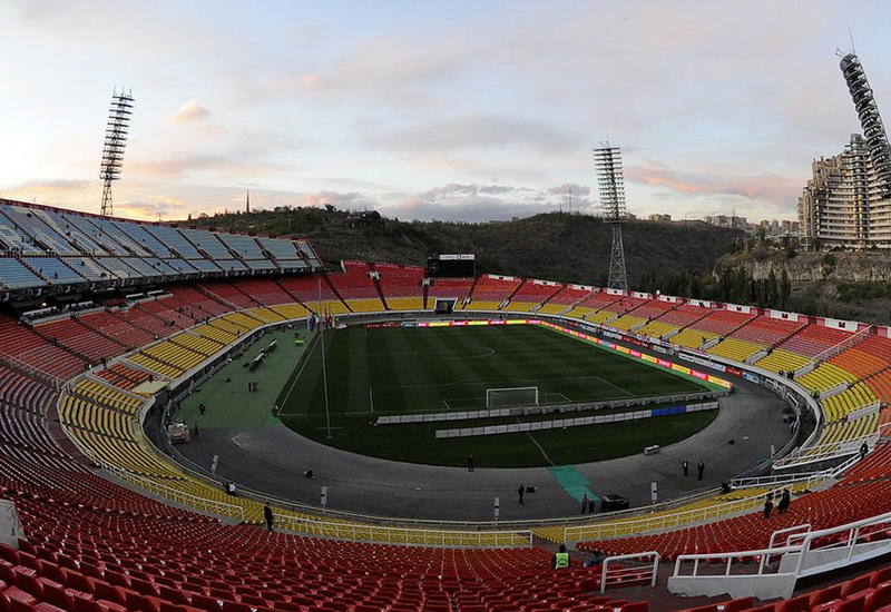 Главный стадион Армении пытались взорвать?