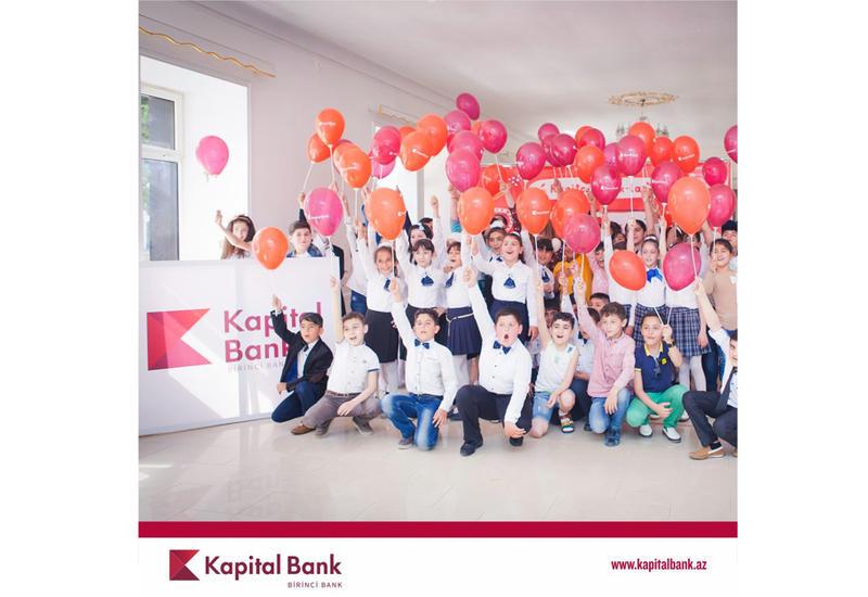 Kapital Bank провел ряд мероприятий для детей