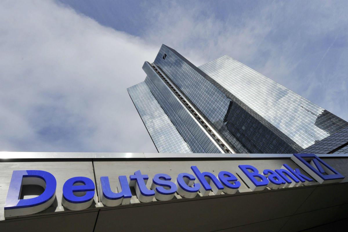 Deutsche Bank снова оштрафовали вСША