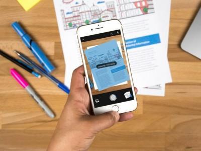 Компания Adobe представила бесплатное мобильное приложение-сканер