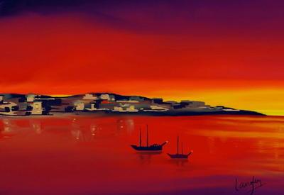 """""""Картинная галерея"""" Day.Az: Цветной мир Кристофера Лэнгли <span class=""""color_red"""">- ФОТО</span>"""