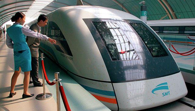 Встолице Китая проводят тестирования поездов намагнитной подушке