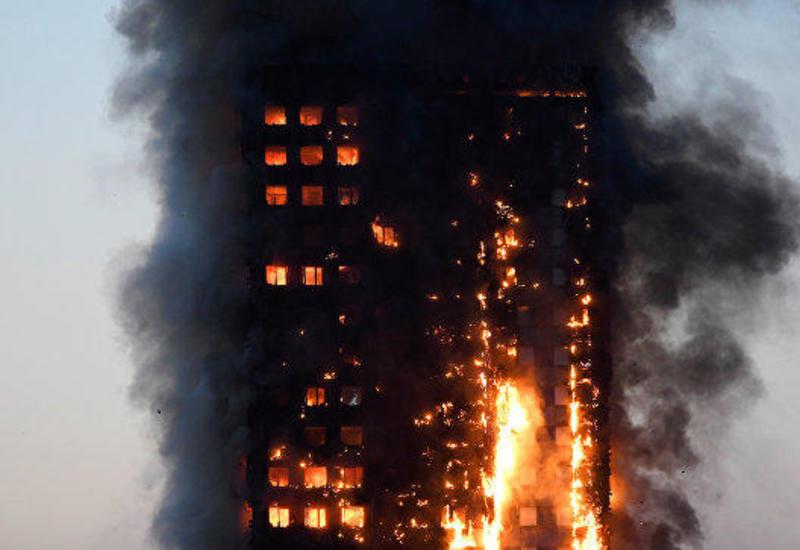 СМИ узнали, что ускорило распространение пламени в Grenfell Tower
