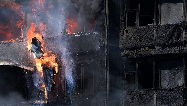 Количество погибших впожаре встолице Англии возросло до30