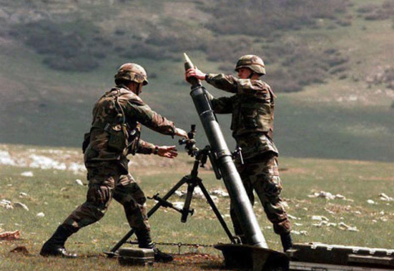 """Армяне устроили массированный обстрел на линии фронта <span class=""""color_red"""">- ПОДРОБНОСТИ</span>"""