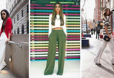 """6 стильных примеров, как носить брюки-палаццо летом 2017 <span class=""""color_red"""">- ФОТО</span>"""