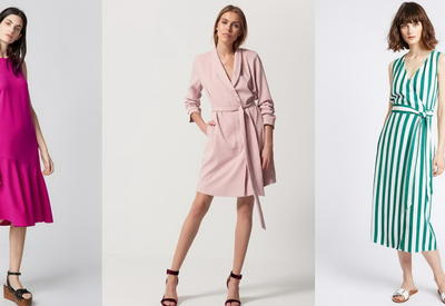 """5 модных летних платьев для офиса <span class=""""color_red"""">- ФОТО</span>"""