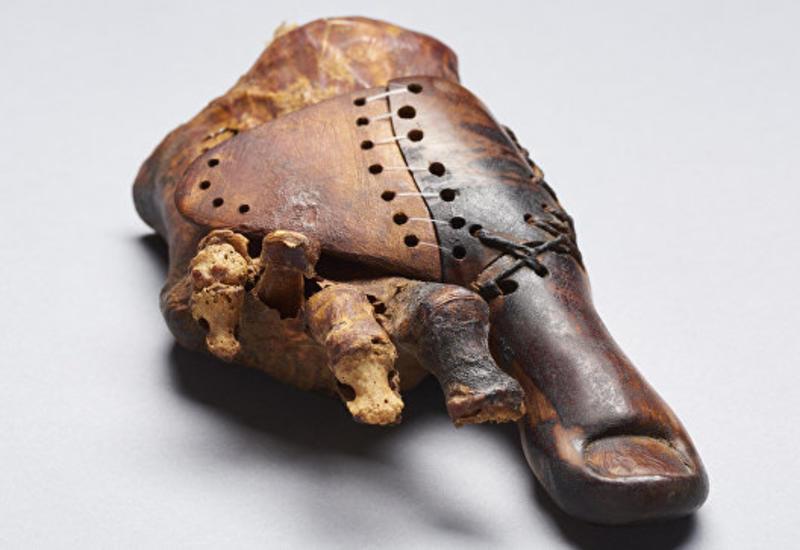 Ученые нашли в Египте древнейший протез на Земле