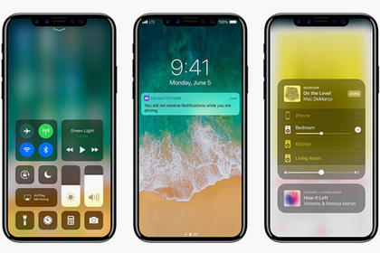 Раскрыт дизайн iPhone 8