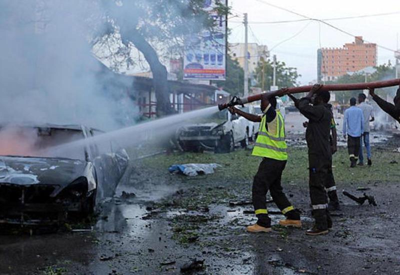 В столице Сомали прогремел мощный взрыв