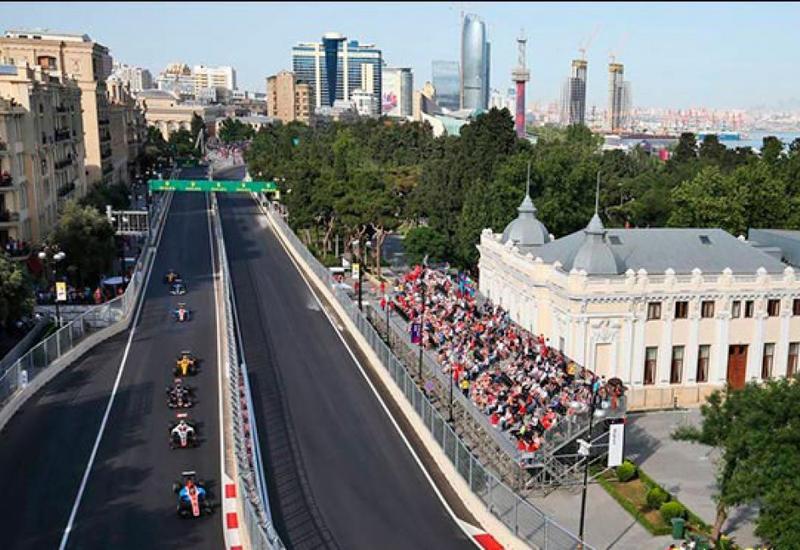 Трасса в Баку – самая быстрая из городских