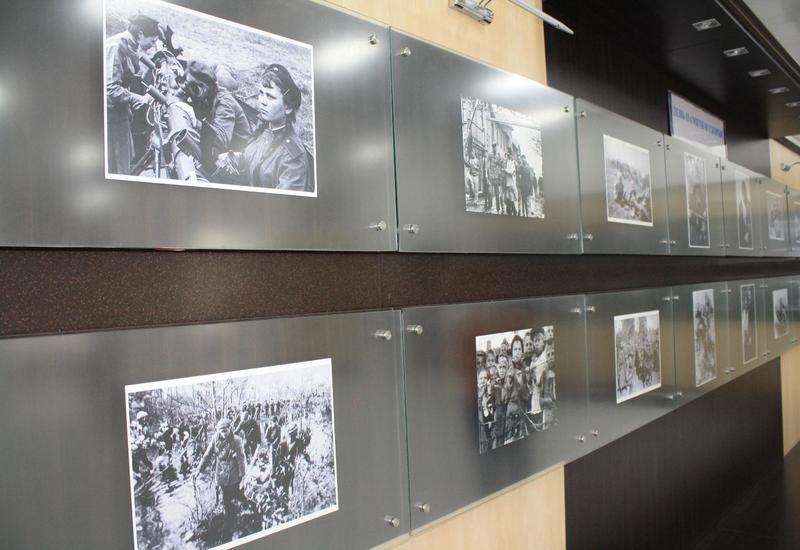 """В Баку открылась выставка, посвящённая 76-ой годовщине со дня начала ВОВ <span class=""""color_red"""">- ФОТО</span>"""
