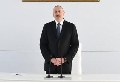 Президент Ильхам Алиев: Мы все время должны быть готовы к освобождению оккупированных земель за счет нашей военной силы