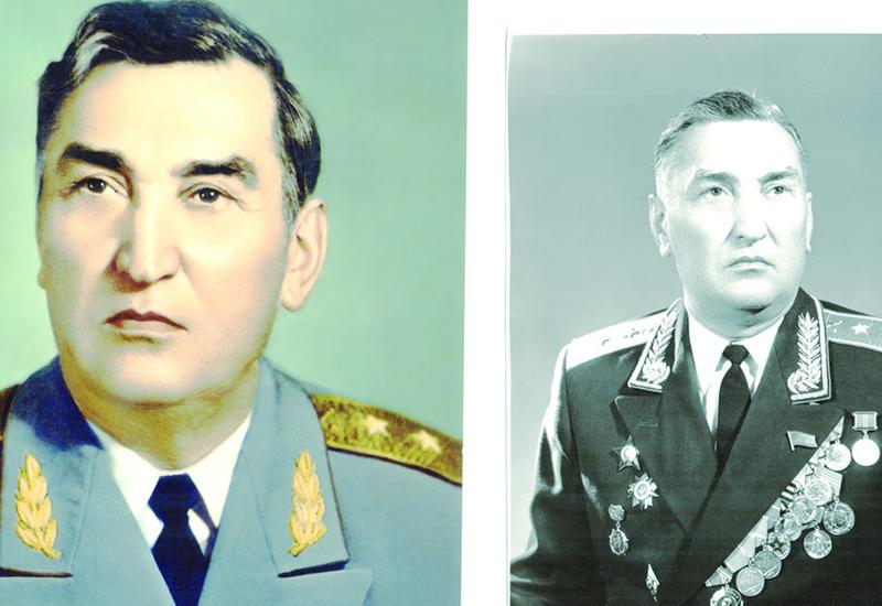 Генерал-лейтенант Гусейн Расулбеков -100