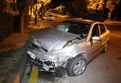 """Таксист совершил тяжелое ДТП в Баку, есть пострадавшие <span class=""""color_red"""">- ФОТО</span>"""