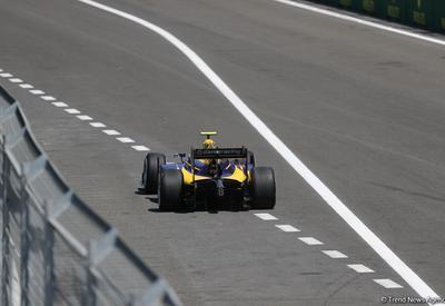 Первый инцидент на соревнованиях FIA Formula-2