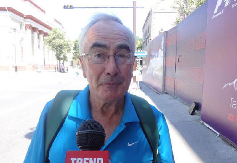 Британский болельщик: Уровень организации в Баку соревнований Формулы-1 лучший