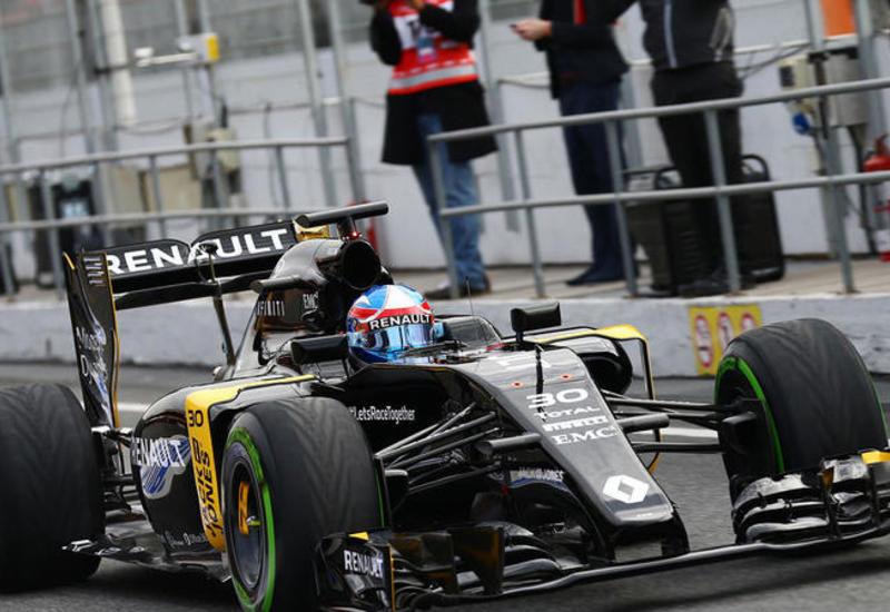 Джолион Палмер покинул практическую гонку Формулы-1 в Баку