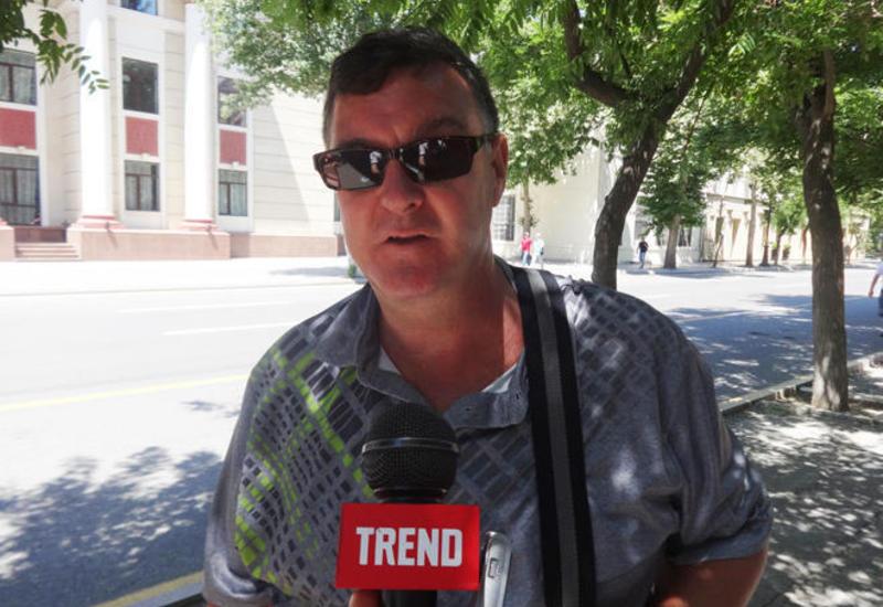 Шотландский турист: Формула 1 в Баку организована лучше, чем в Сингапуре