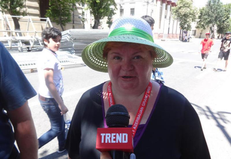 Финская болельщица: Для зрителей на Гран-при Формулы 1 в Баку созданы комфортные условия