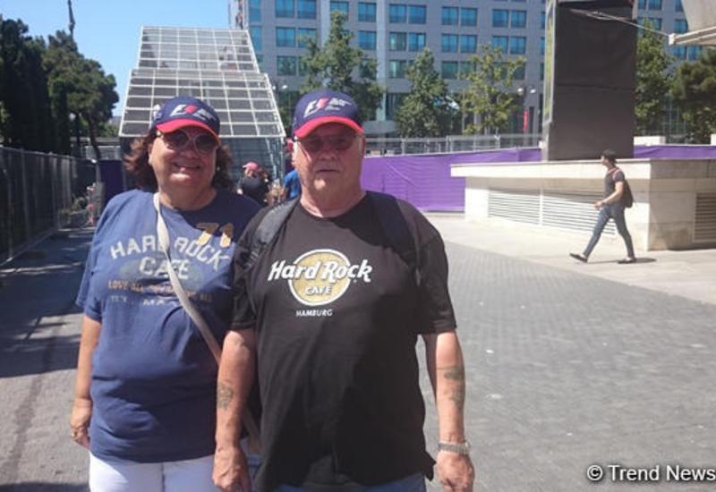 Турист из Германии: Формула 1 в Баку организована очень хорошо