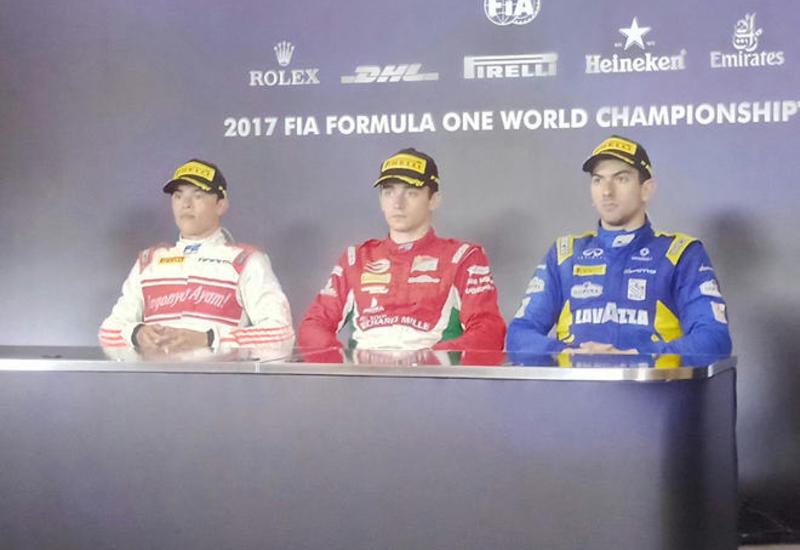 Победитель первой гонки FIA Formula-2: Бакинская трасса мне очень понравилась