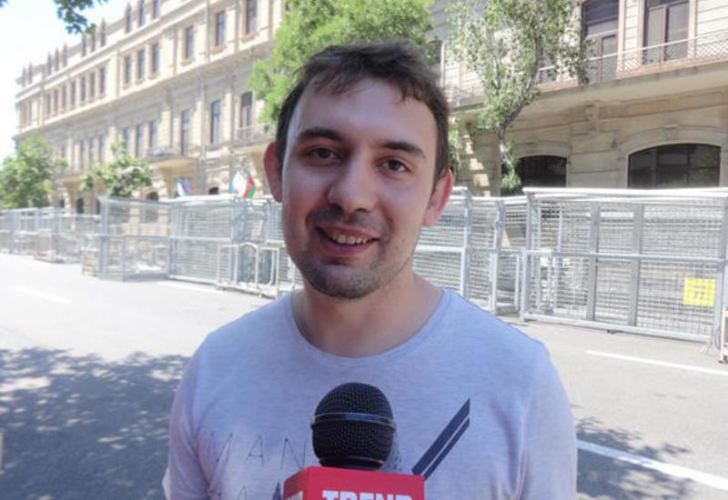 """Иностранный болельщик: Азербайджан организовал Гран-при Формулы-1 на высоком уровне <span class=""""color_red"""">- ФОТО</span>"""