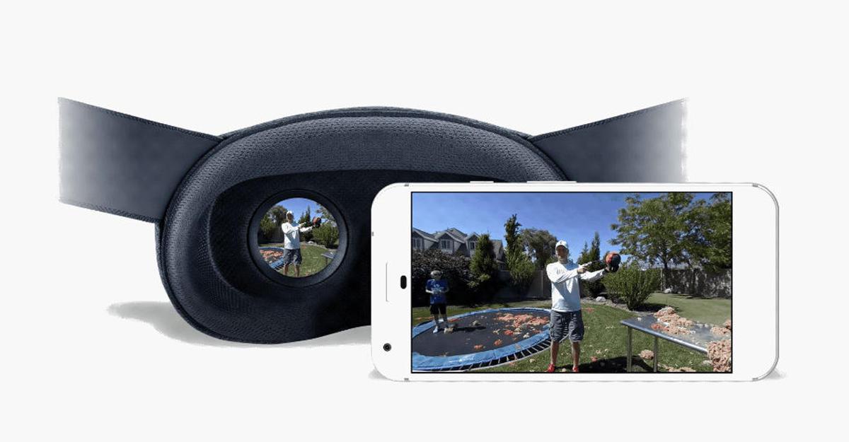 Google представила новый формат VR180