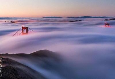 Золотые ворота — это самый фотографируемый мост в мире