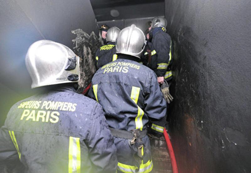 Из-за пожара в пригороде Парижа эвакуировали около ста человек
