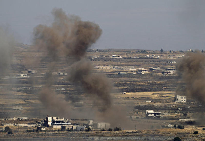 Израиль атаковал позиции сирийских войск на границе