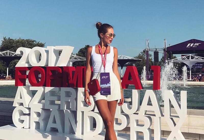 """""""Русская Анджелина Джоли"""" приехала в Баку <span class=""""color_red""""> - ФОТО</span>"""