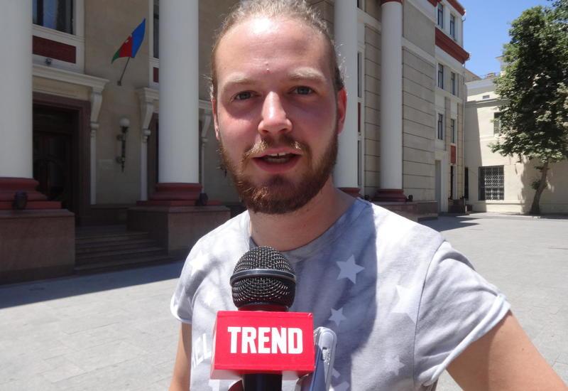 Британский болельщик: Не ожидал, что Баку такой красивый и современный город