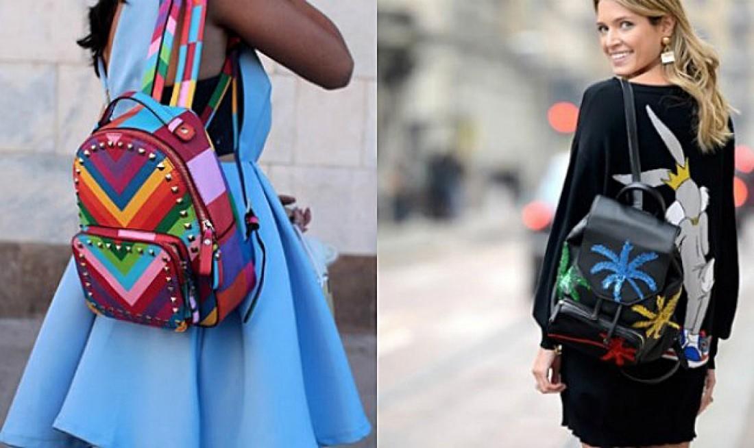 Рюкзаки модные стильные женские 29
