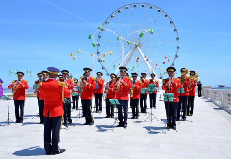 В Баку пройдут показательные выступления военных оркестров по случаю Дня ВС Азербайджана