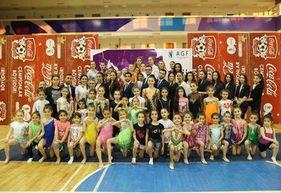 """Завершилось открытое первенство Гянджи по художественной гимнастике <span class=""""color_red"""">- ФОТОРЕПОРТАЖ</span>"""