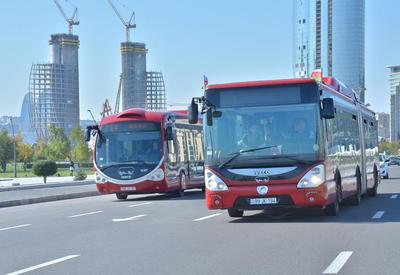 18 бакинских автобусов вернули на прежние маршруты