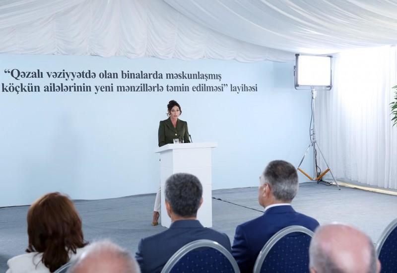 Первый вице-президент Мехрибан Алиева: Мы обязательно добьемся осуществления всех наших желаний, справедливость будет восстановлена, карабахская проблема будет решена