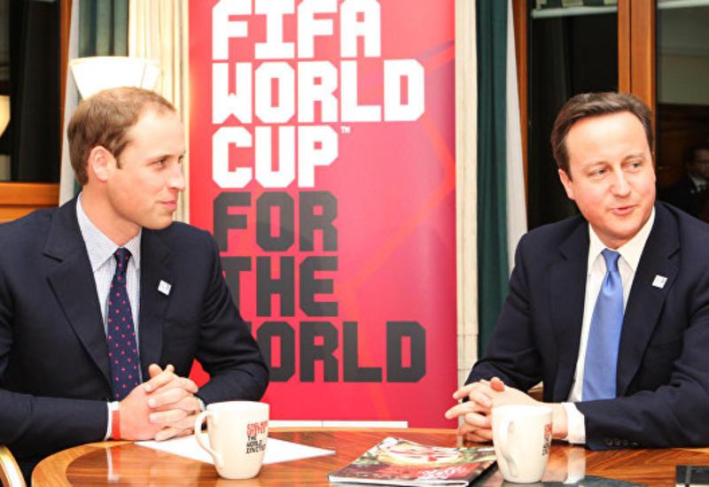 В Британии не комментируют причастность принца Уильяма к скандалу ФИФА