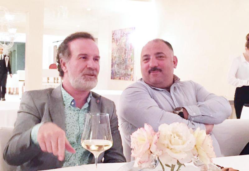 """Бахрам Багирзаде и Сакит Мамедов в Люксембурге <span class=""""color_red""""> - ФОТО</span>"""