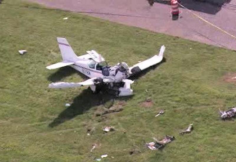 В США разбился самолет, есть жертвы