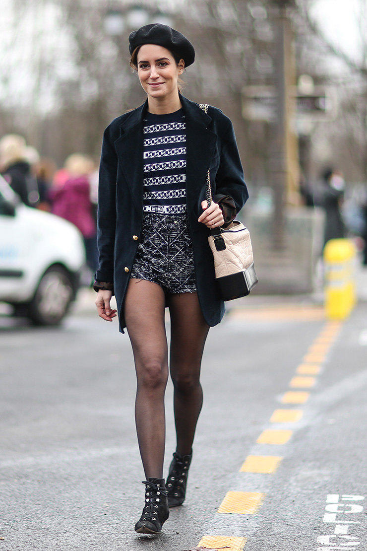 Wear black tights fashion 50 Fashion Rules To Break StyleCaster