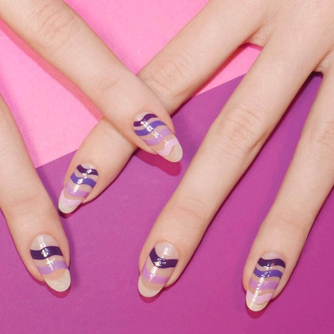 Летний дизайн ногтей, яркий летний маникюр с цветами 30