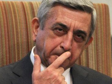 В Армении предложили свергнуть Саргсяна