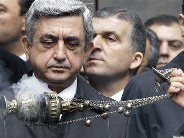 На президента Армении совершен наезд