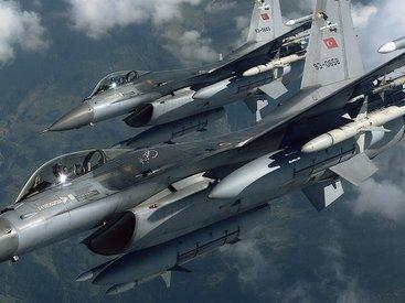 ВС Турции бомбят позиции курдских сил в Сирии
