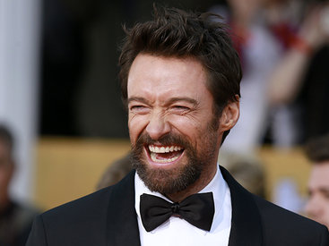 Actor Hugh Jackman arrives at the 19th annual Screen Actors Guild Awards in Los Angeles