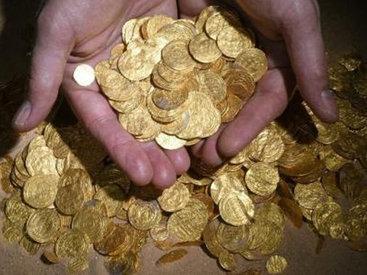 В Москве откопали тысячу монет XVII века
