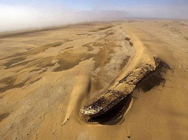 Это самая необыкновенная затерянная вещь в пустыне - ФОТО
