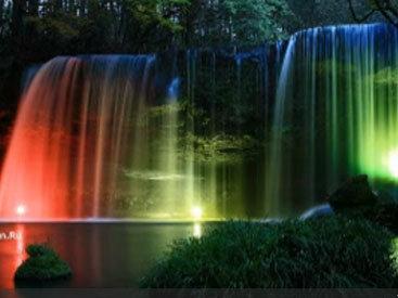 Сногсшибательный водопад в Японии - ВИДЕО